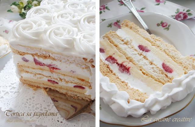 Безе для торта с фото