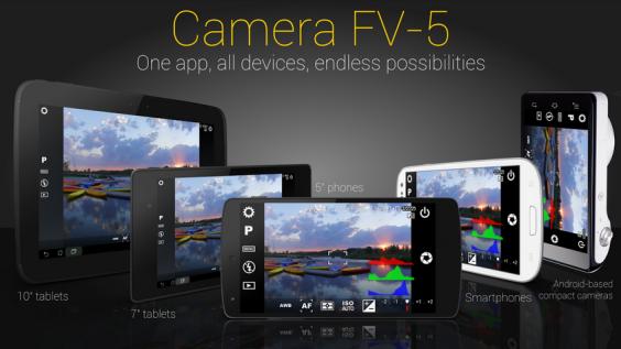 Camera FV v 2.37 Support Segala Jenis Ponsel Android