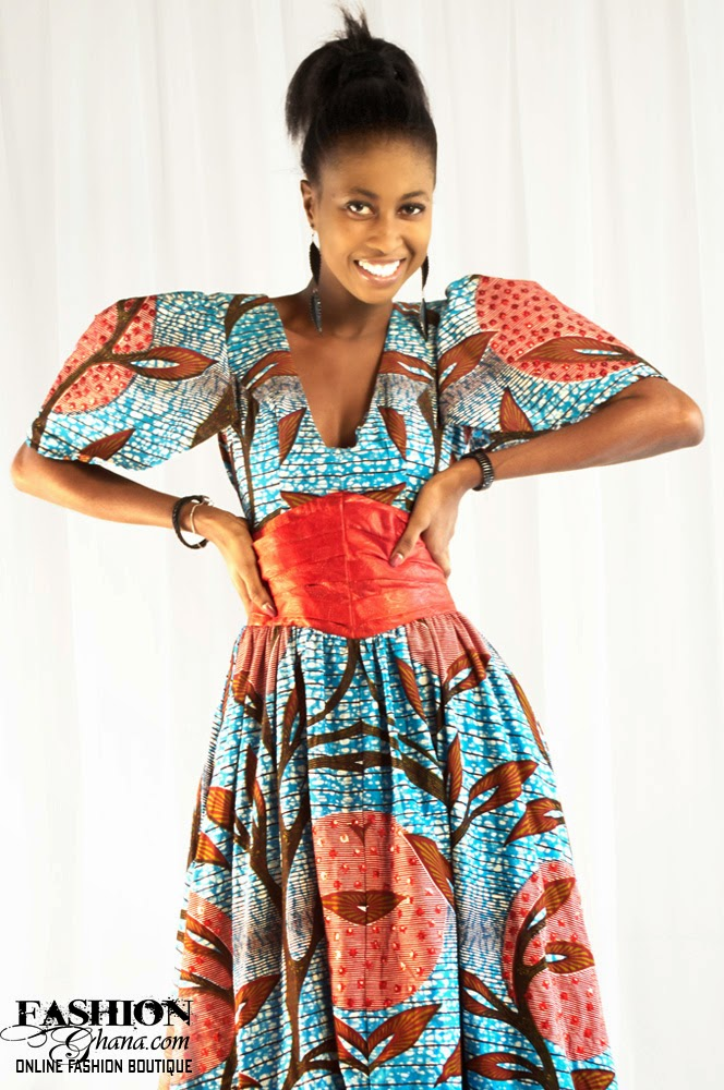 Flashback Summer: African and 1930s Trends - Ghana Dress