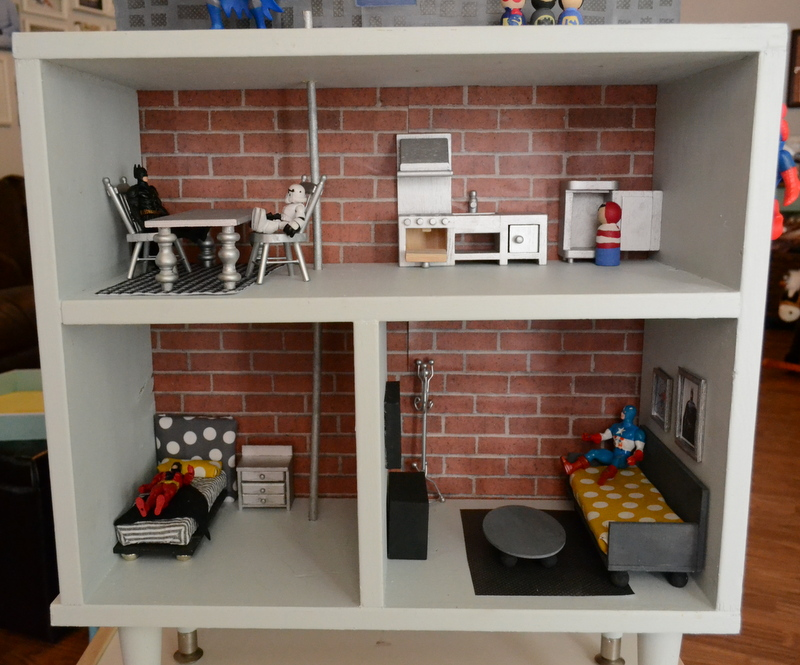 Preppy mom diy dollhouse furniture on the cheap for Build your own couch cheap