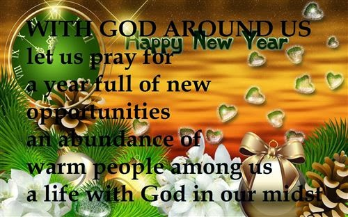 Meaning New Year Christian With Wishes 2015