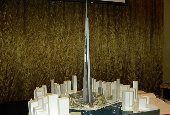 Kingdom Tower Building Permit Issued