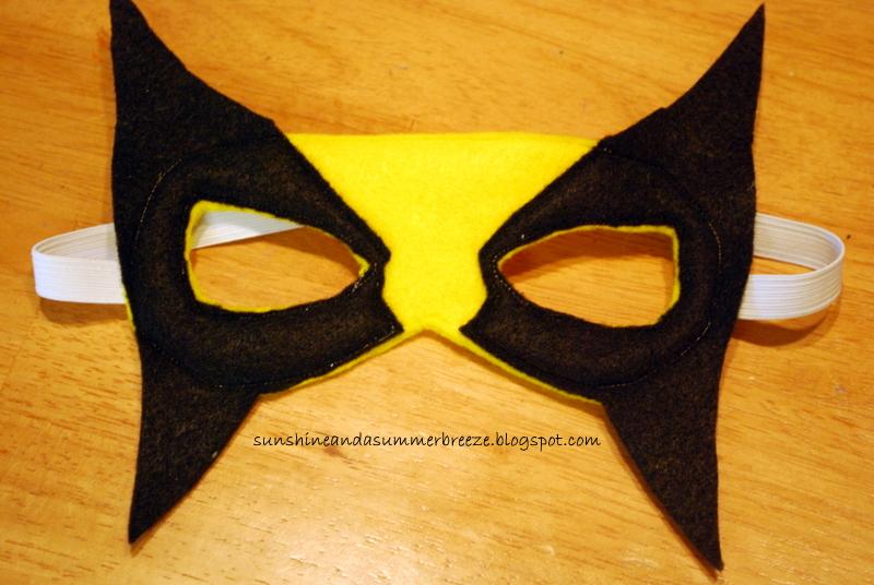 Sunshine and a summer breeze wolverine felt mask with free template wolverine felt mask with free template pin it solutioingenieria Gallery