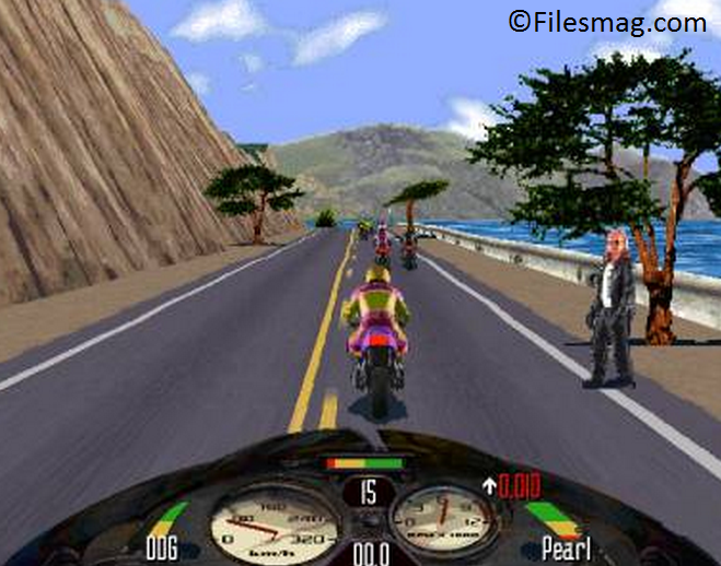 Road Rash 2002 Game Screenshot