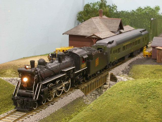 S scale train