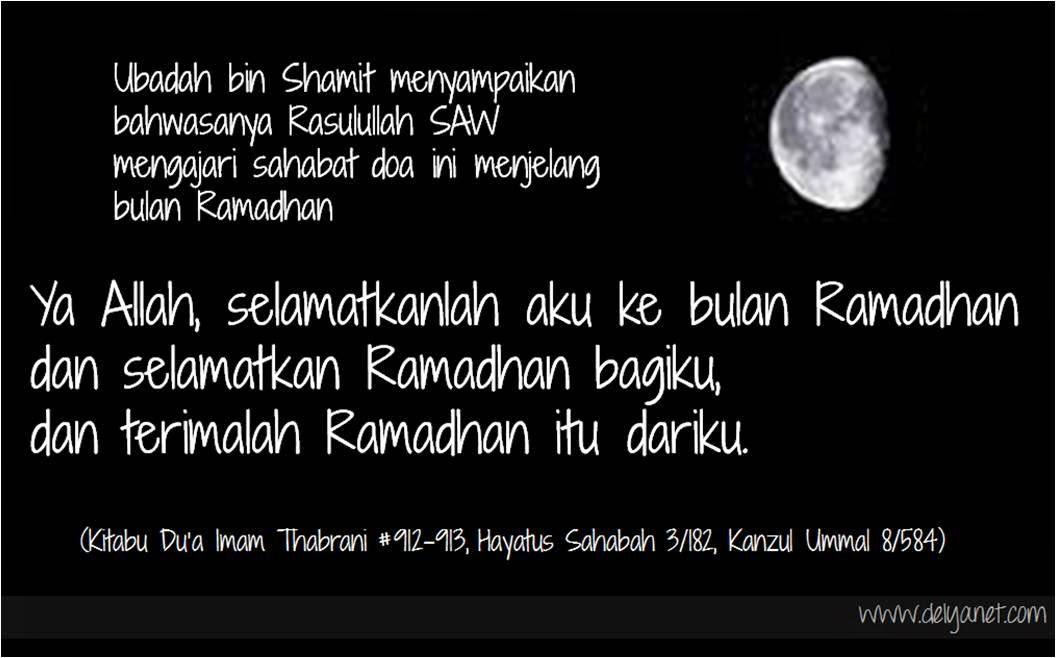 Doa menjelang Ramadhan (www.delyanet.com)
