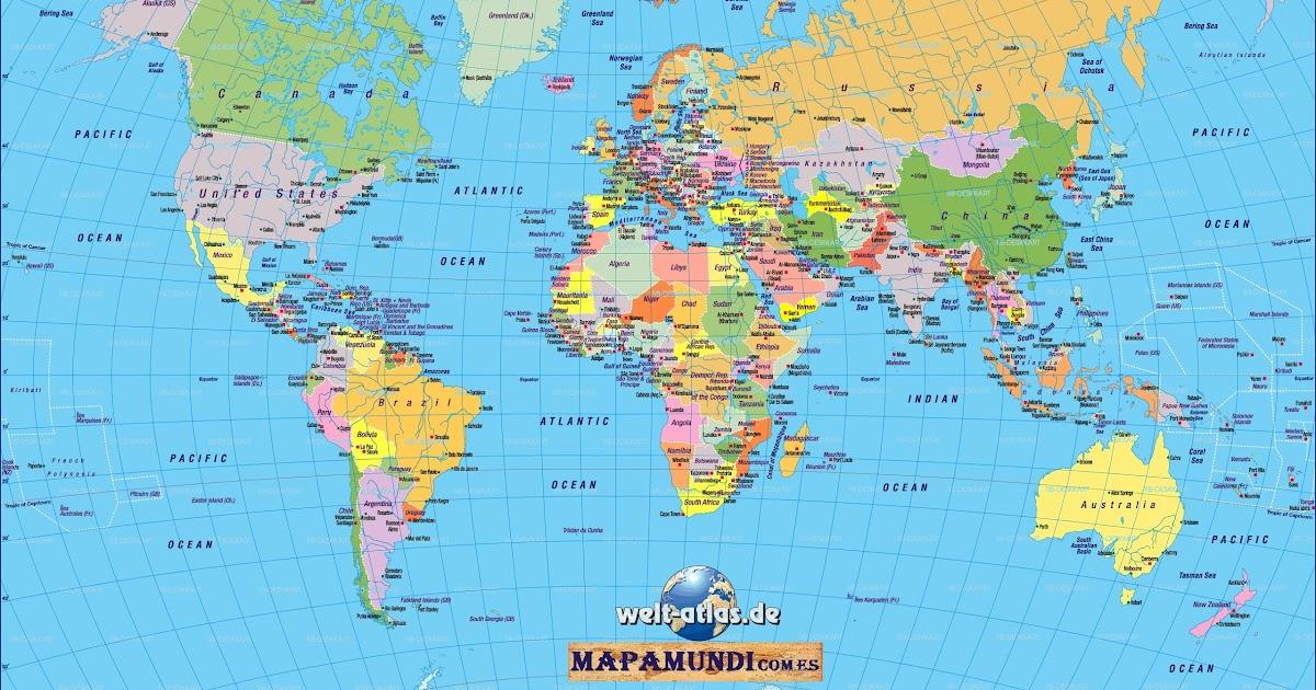 Nuestraventanica mapa mundi - Papel pintado mapa del mundo ...