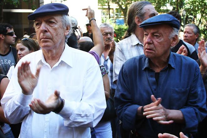 Daniel Viglietti y Eduardo Galeano
