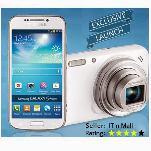 Flipkart : Samsung Galaxy SM-C1010 S4 Zoom Mobile Rs.17825