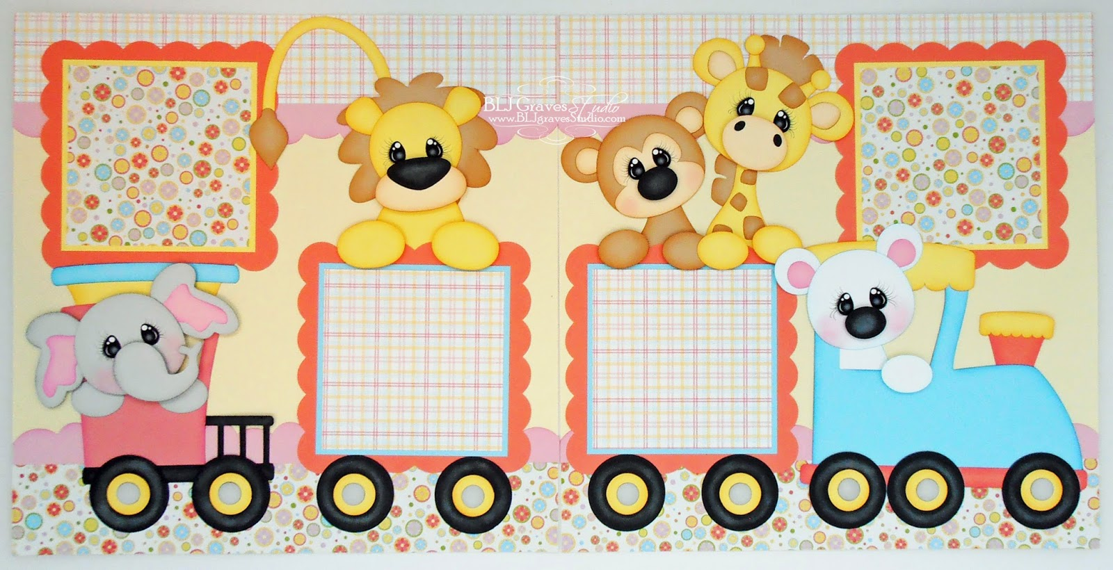 Baby girl scrapbook ideas - Baby Girl Scrapbook Pages Cutting Files From Little Scraps Of Heaven Designs