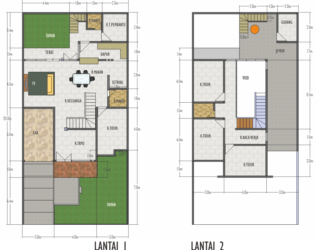 Desain Rumah Minimalis 10 X 20 - Foto Desain Rumah Terbaru 2016