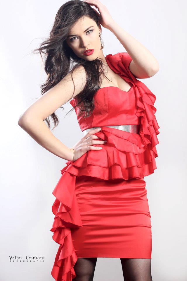 Miss Universe Kosovo 2012 Diana Avdiu