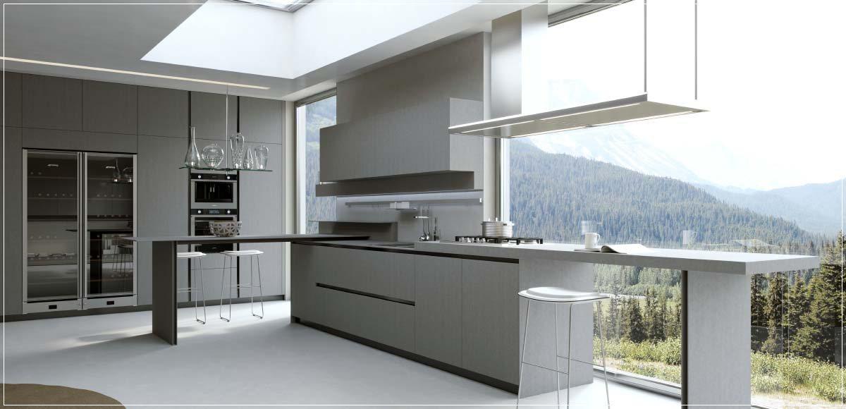 Kjøkken oppsett og nydelig belysning   interiør inspirasjon
