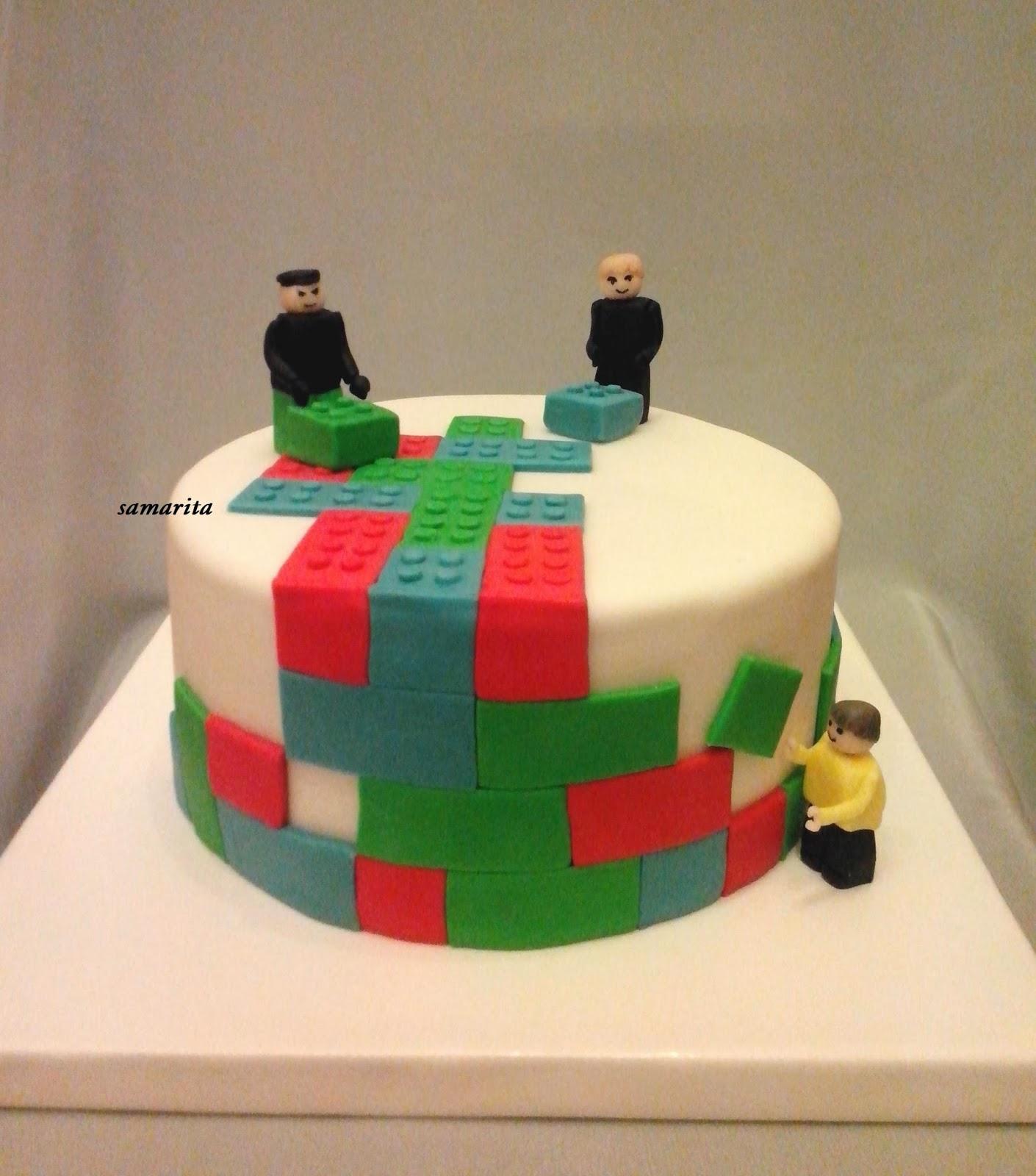 Торт Лего Ниндзяго из мастики 11