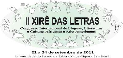 II XIRÊ DAS LETRAS: GIROS DE RESISTÊNCIAS