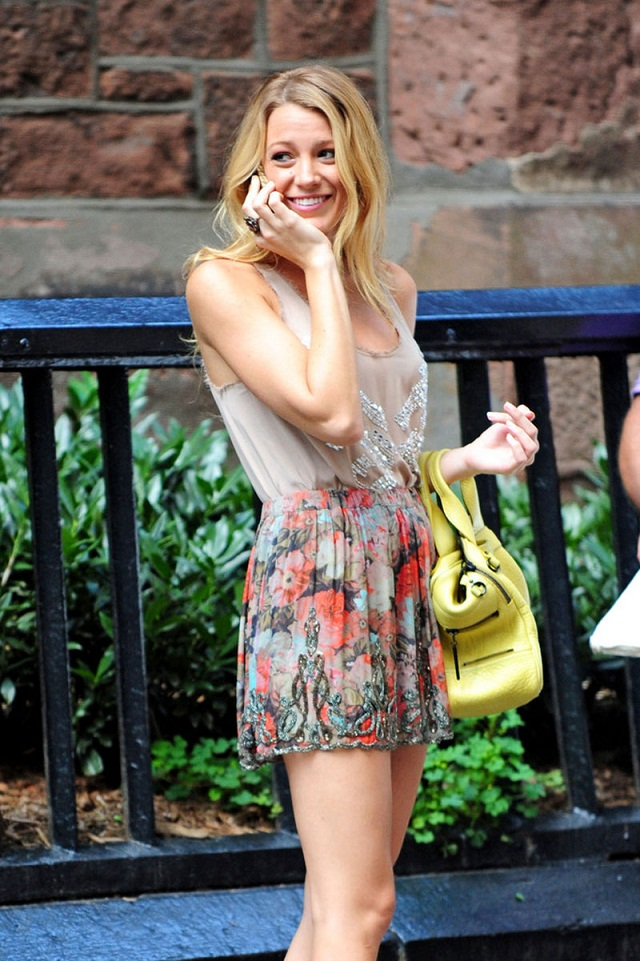 Blake Lively and Leighton Meester spotted on the sets of ...
