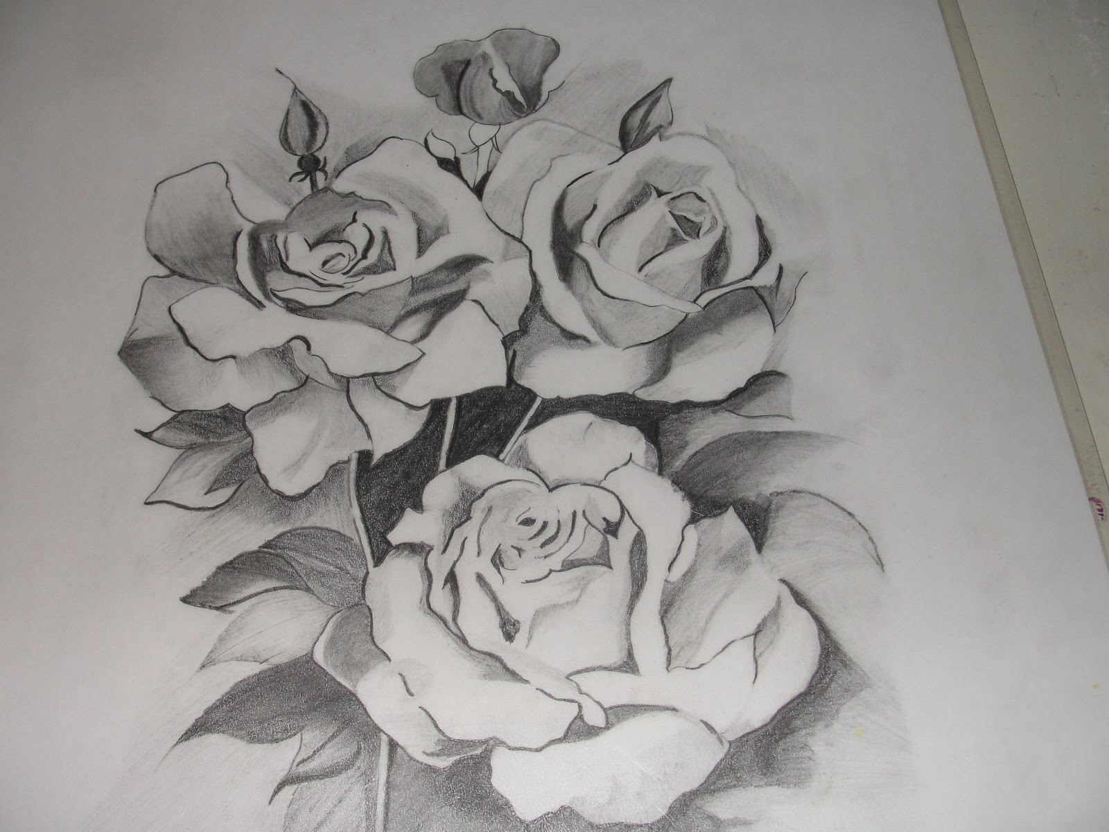 Kani s Crafts Pencil Sketch Flowers