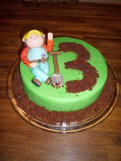 Bob der Baumeister-Kuchen