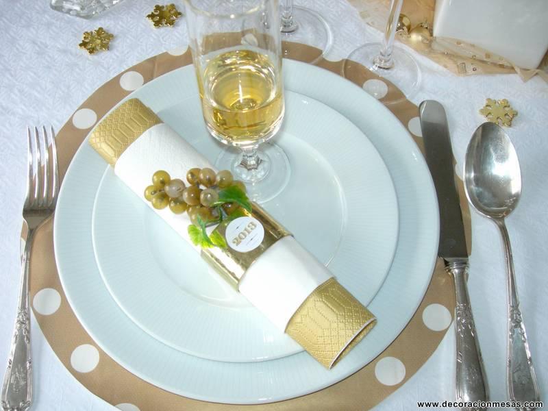 Decoracion de mesas mesa a o nuevo 2013 - Decoracion mesa fin de ano ...