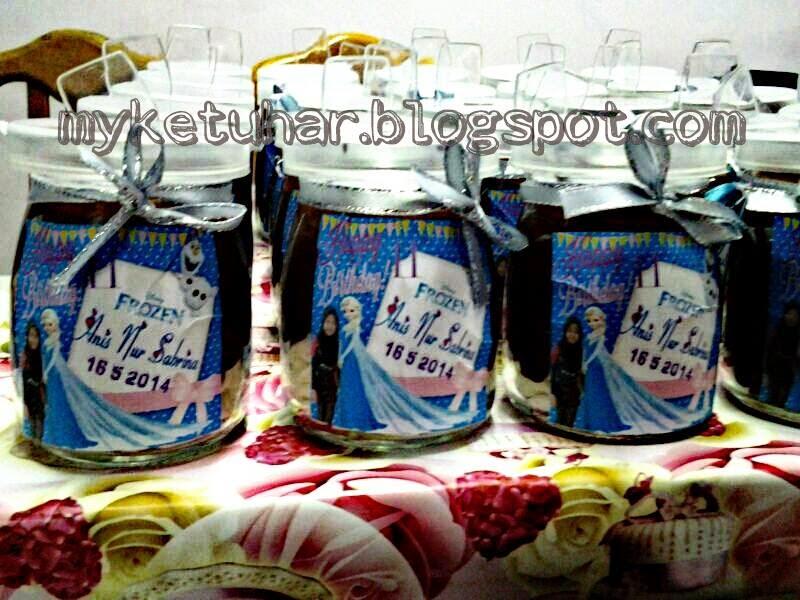 crunchy choco in jar