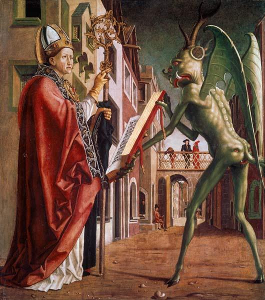 Senza dedica il buon diavolo di michael pacher - Chi ha dipinto il bagno turco ...