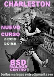 EN JULIO CURSO DE SWING- CHARLESTON  EN BSD MÁLAGA CENTRO.
