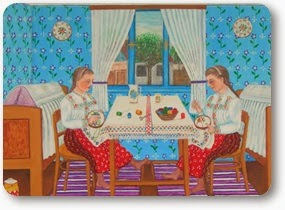 art naif slovaque en  serbie a l unesco - gricha rosov outsider art magazine