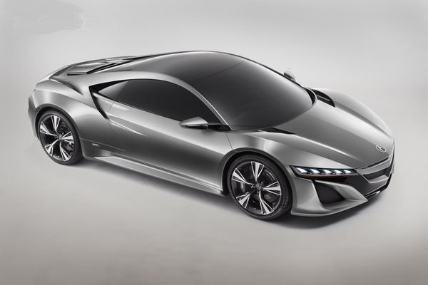 Production NSX to Debut In Detroit gassguzzler