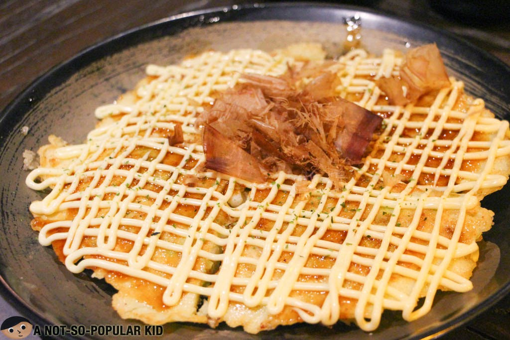 Okonomiyaki of Teriyaki Boy