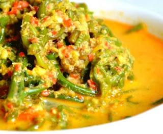 Resep Gulai Pakis Makanan Khas Sumatra Barat