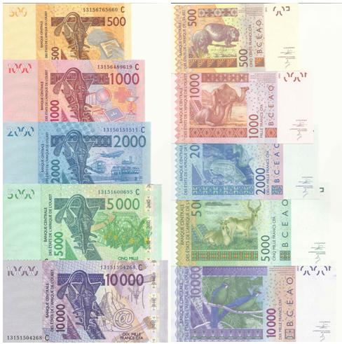 Image result for bamako West African CFA franc