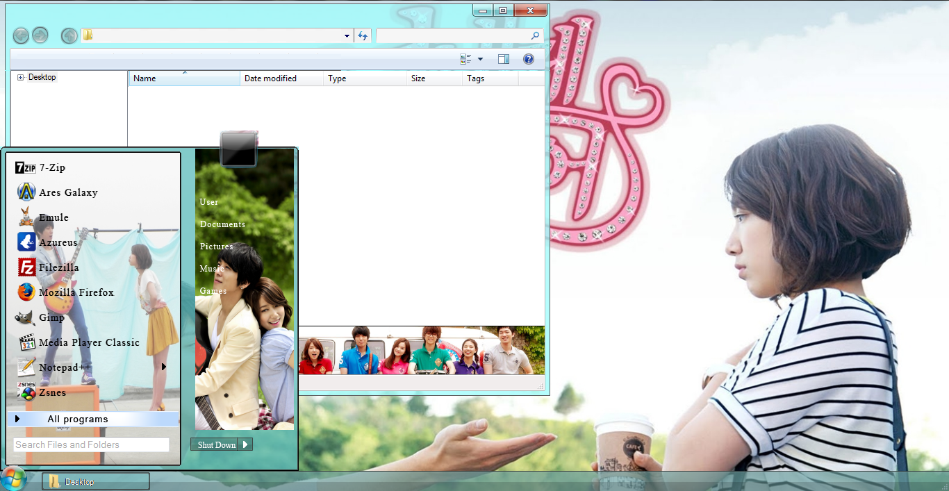 Google theme kpop exo - Heartstring Windows 7 Theme Download