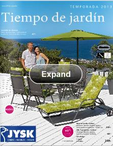 muebles de jardin JYSK 2013