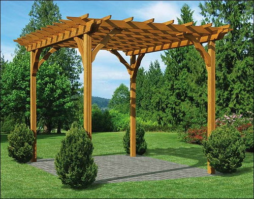 Extraordinary Garden Design Ideas With Pergola 15 Known Inspiration