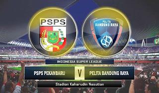 PSPS vs Pelita Bandung Raya