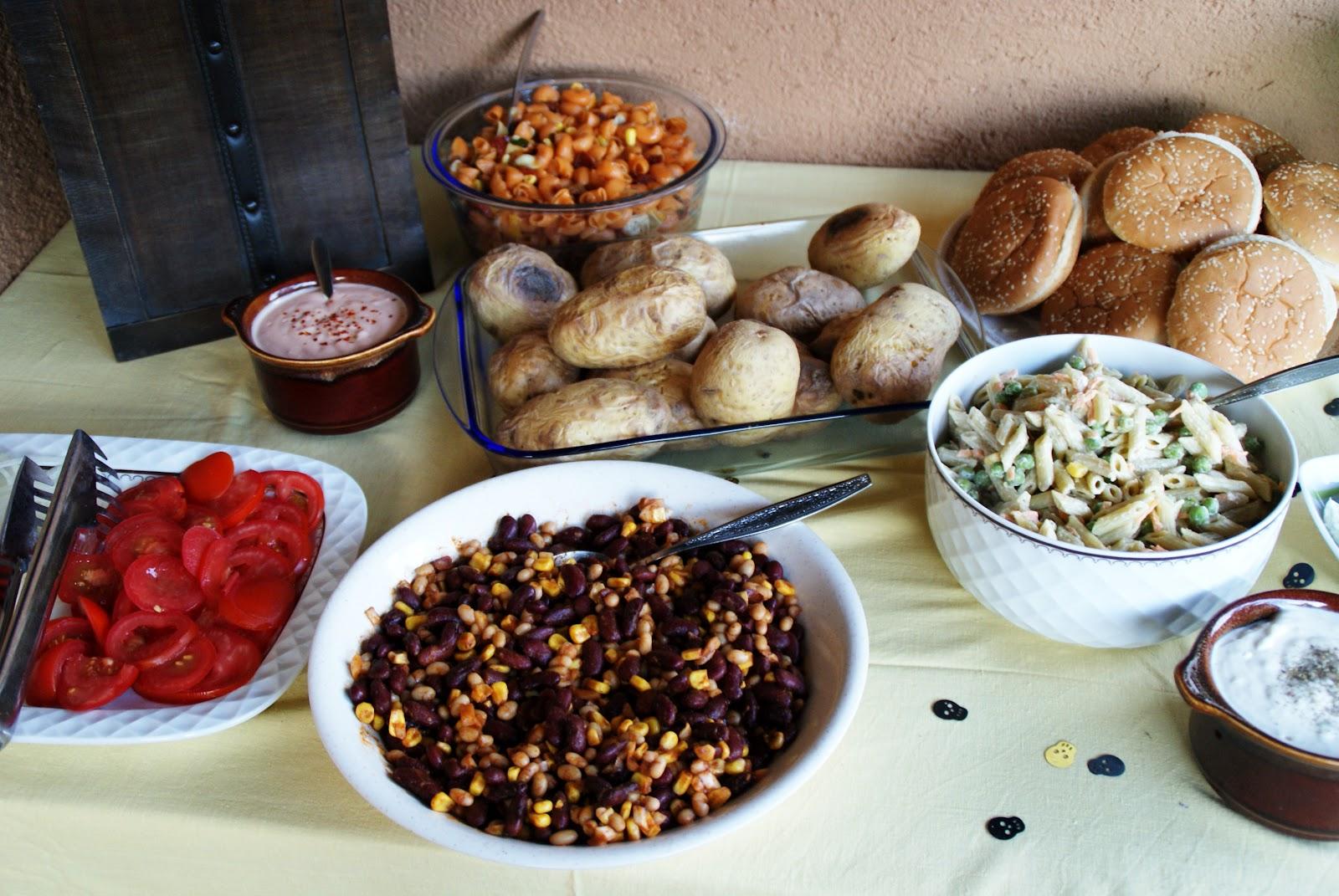 und eine auswahl des diesjhrigen buffets - Gartenparty Gartenpartys Mal Ganz Anders Ideen
