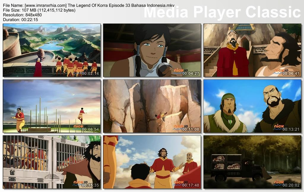Download Film / Anime Avatar: The Legend of Korra Episode 33 Bahasa Indonesia