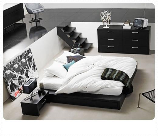 desain gambar kamar tidur modern unik dan minimalis