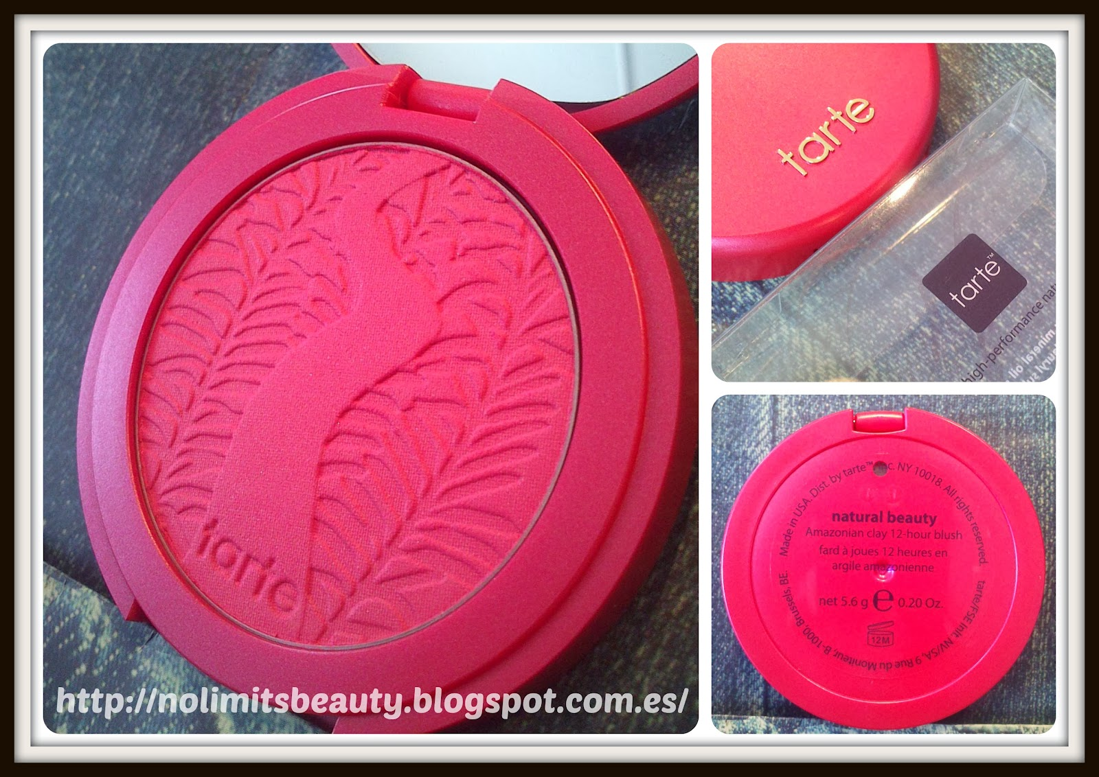 Tarte Amazonian clay 12 hours Blush - Natural Beauty
