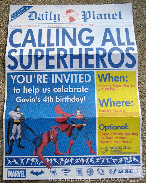 Stupendous image with free printable superhero invitations