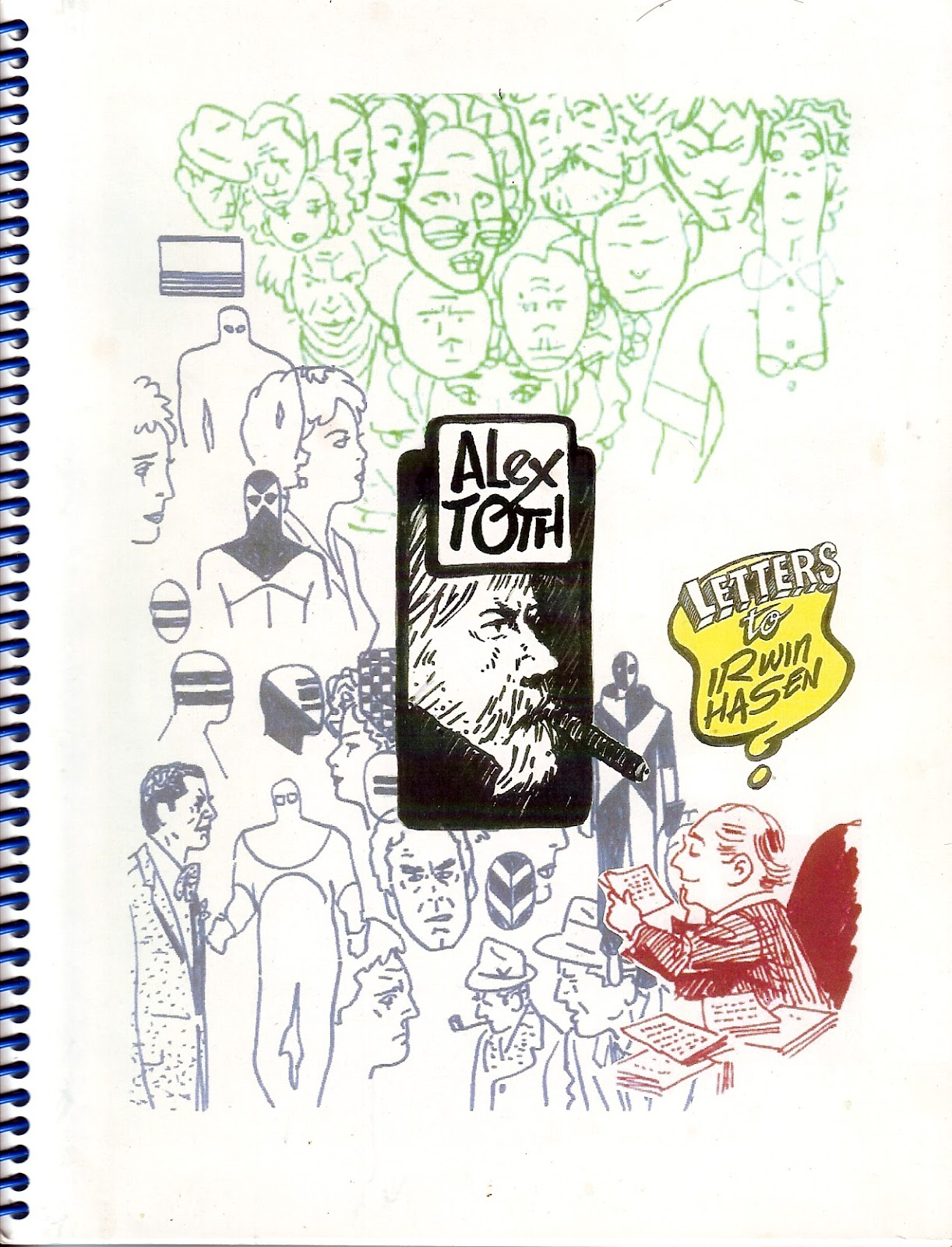 Mike Lynch Cartoons  Alex Toth  Letters to Irwin Hasen e6efacf12a