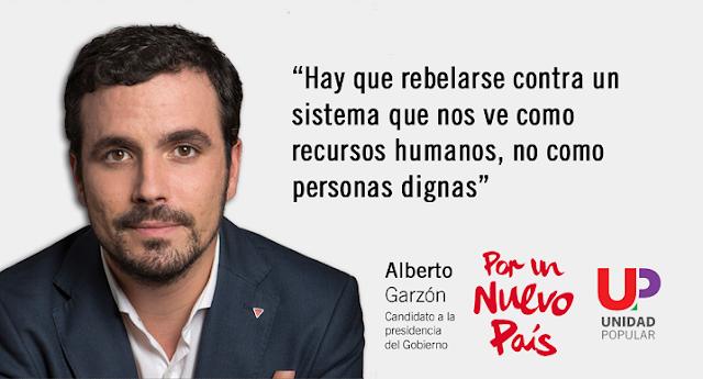 """Garzón, convencido de que """"romperá las encuestas"""""""