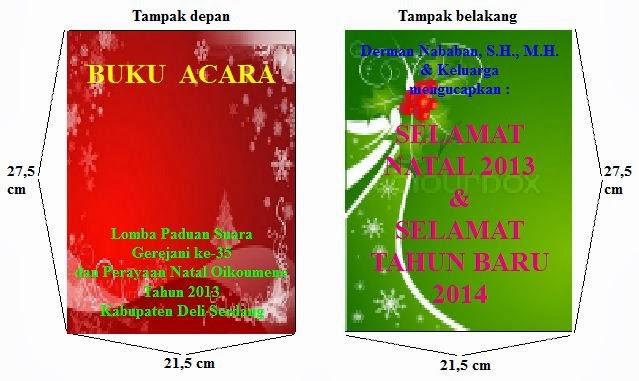 Panitia Natal Oikoumene & Festival Paduan Suara Gerejani ke-35 Kab