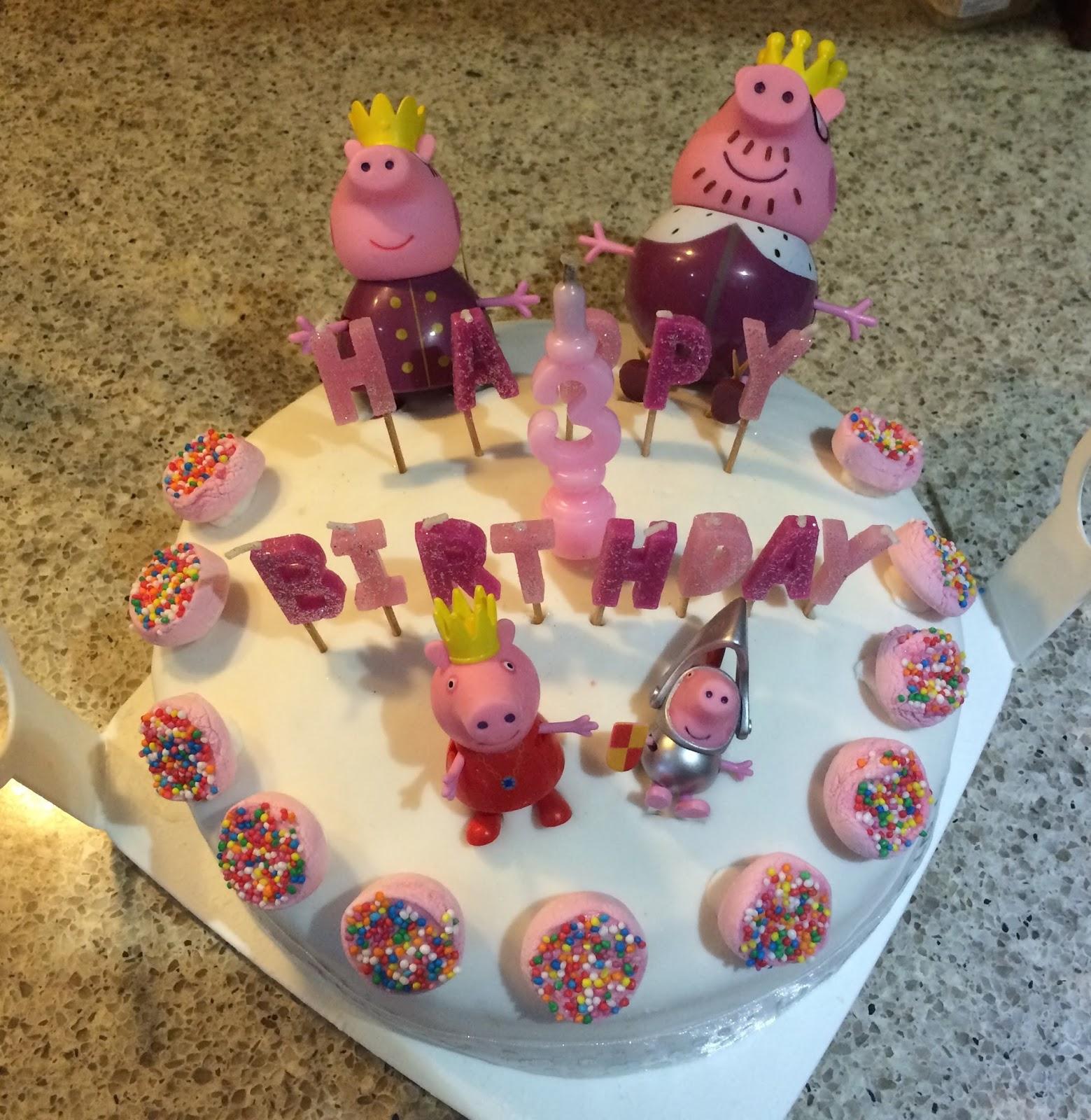 Mr Gift Peppa Pig Birthday Cake