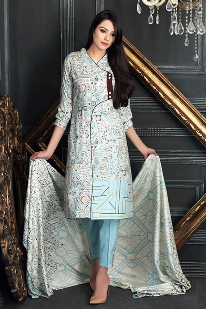 Pakistani Fashion Designers Get Inspiring Winter Dresses Trends