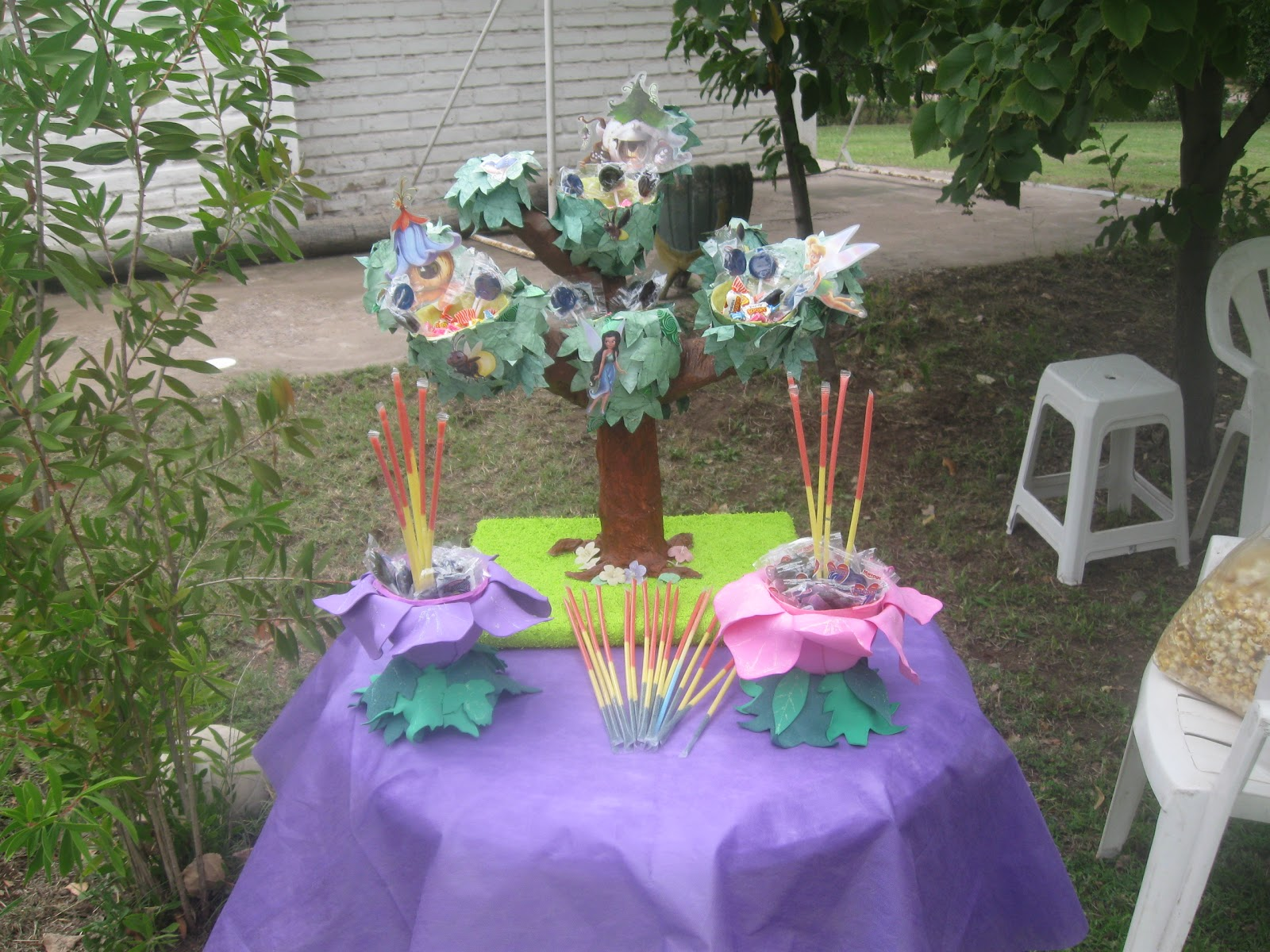 Decoraciones m gicas cumplea os tinkerbell for Decoracion de cumpleanos