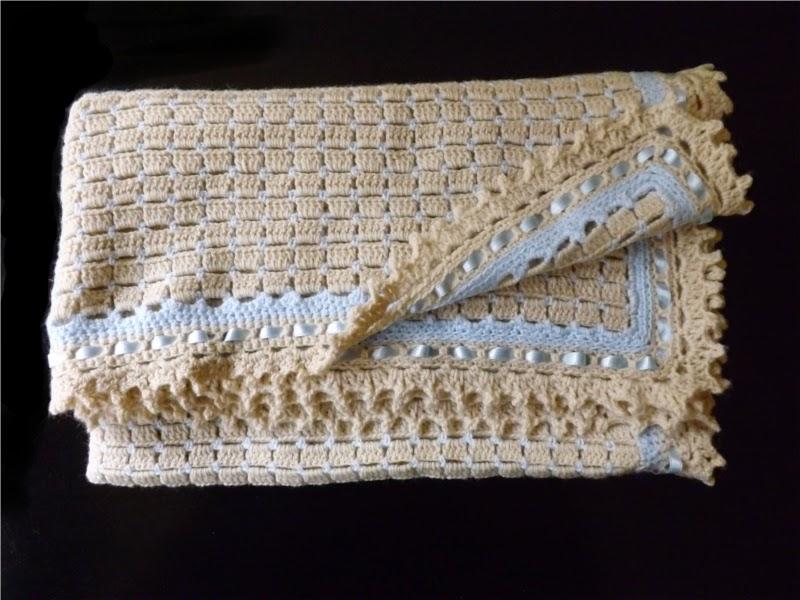 Tiempo para tejer mantas de crochet para beb share the - Manta de bebe a ganchillo ...