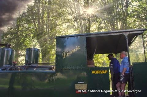 Léonie, locomotive à vapeur d'Agrivap