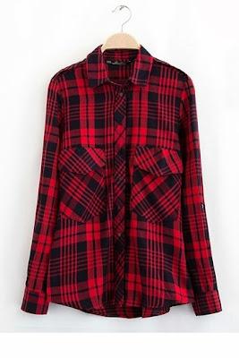 camicia tartan