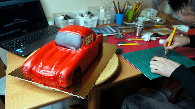 Mercedes-Benz 3D Cake Design - London Patissiere